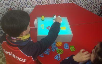 La Caja de la Luz, un recurso multisensorial.
